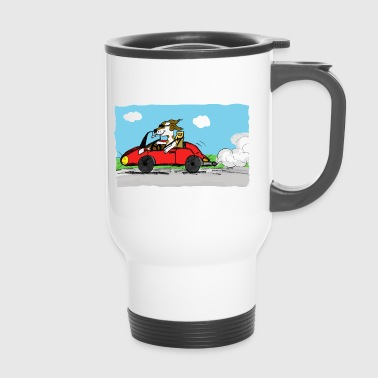 bolide et chien - Mug thermos