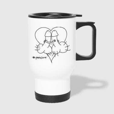 penis Love - Travel Mug