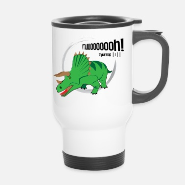 Dinosaurier Dinosaurier // Tryceratop - Thermobecher