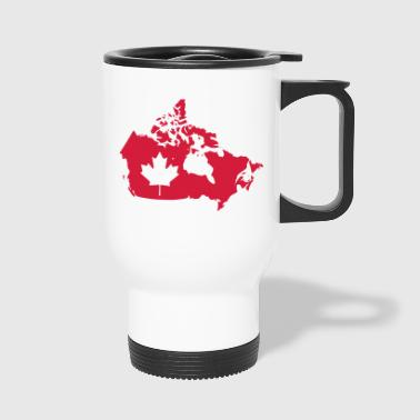 Canada Map - Canada Map - Travel Mug
