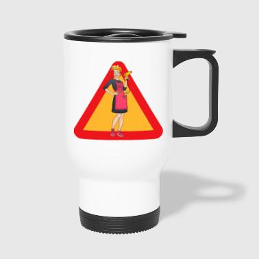 Hairdresser Hairdressing Coiffeur Hairdresser Coiffeuse - Travel Mug