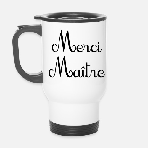 merci ma tre simplement cadeau de fin d 39 ann e mug isotherme spreadshirt. Black Bedroom Furniture Sets. Home Design Ideas