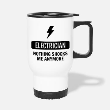 Electrician Electrician / Electricien / Elektriker / Electric - Travel Mug