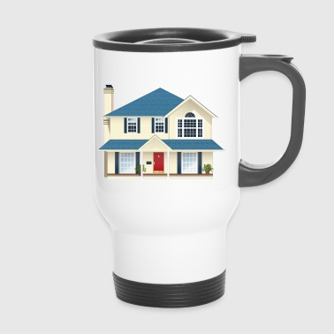 Large house - Travel Mug