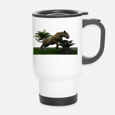 Jaguar Sauvage jaguar chat - Mug thermos