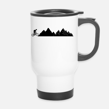 Mountain Bike Mountain Bike Mountains Bike - Travel Mug