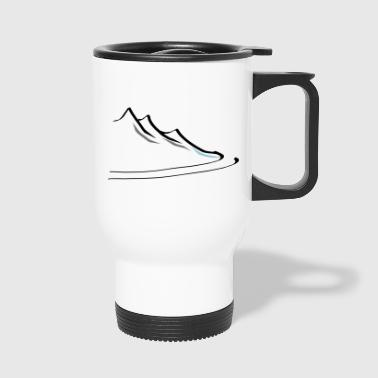 mountain1 - Taza termo