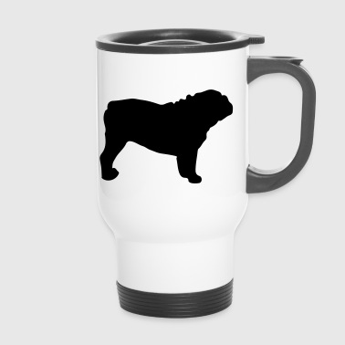 ENGLISH BULLDOG - ENGLISH BULLDOG Silhouette - Travel Mug