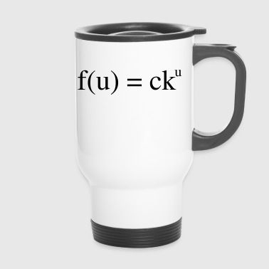 Insult mathematical insult - Travel Mug