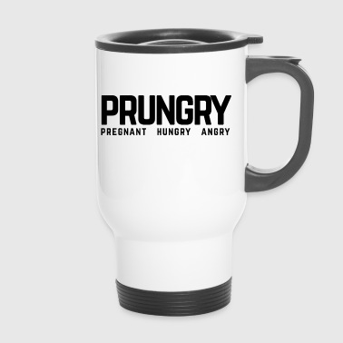 Prungry Pregnant Hungry Angry Pregnancy - Thermo mok