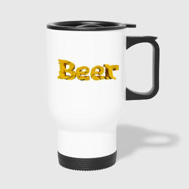 Bier lettertype - Thermo mok