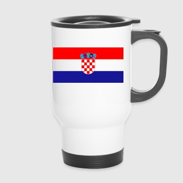 Croatia Croatia flag, Croatia, Croatia flag - Travel Mug
