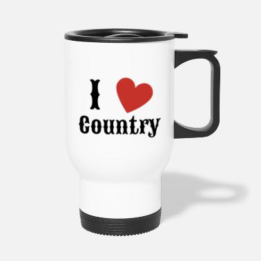 Country Rakastan Country Country Music -lahjaa - Termosmuki