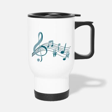 Note Note Music - Travel Mug