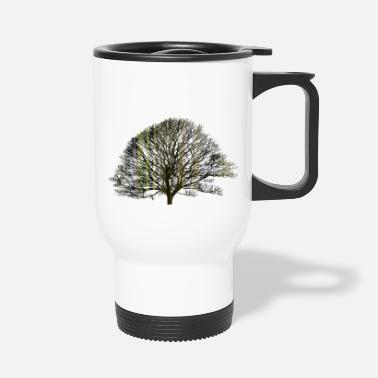 Texturas The tree and the earth - Travel Mug
