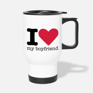 Love I Love My Boyfriend - Thermosbeker