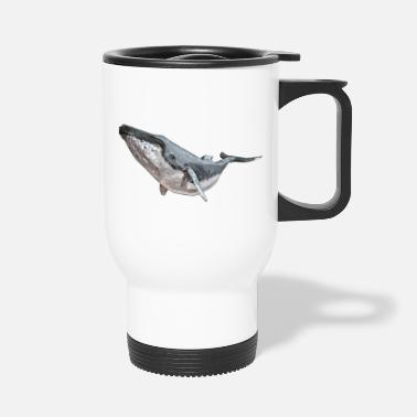 Sjo Humpback Whale - Travel Mug