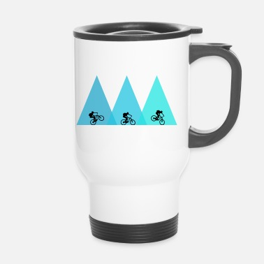 Mountain Bike MTB mountain bike mountain biking - Travel Mug