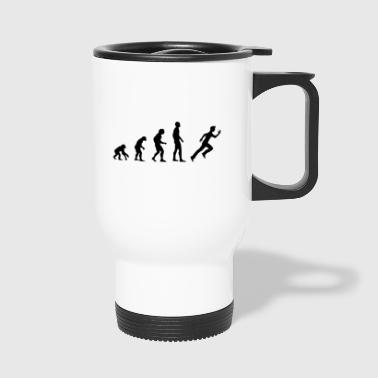 runner evolution - Travel Mug