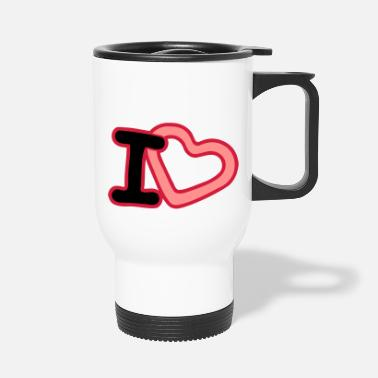 I Heart I Heart - Thermobecher