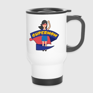 Supermom Hero Mothers Day Gift - Overhemd - Thermo mok