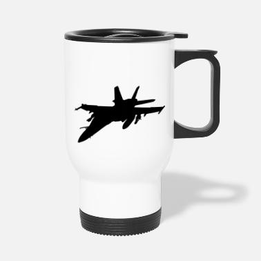 Fighter fighter aircraft fighter - Travel Mug