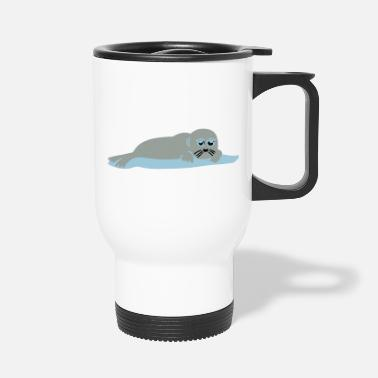 Sumu Lee seal 2 - Travel Mug