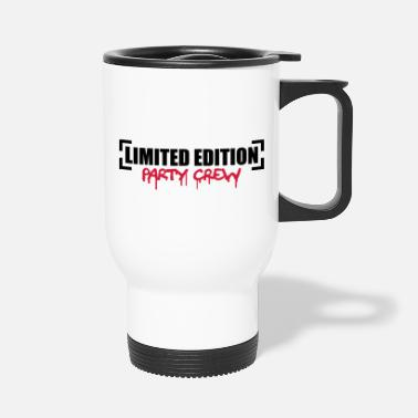 Party Limited Edition Party Crew Design - Travel Mug