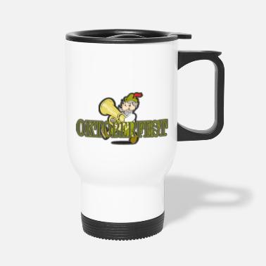 Band Oktoberfest Bavarian brass band - Travel Mug