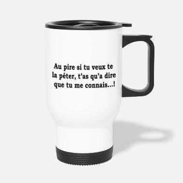 Humor humor - Travel Mug