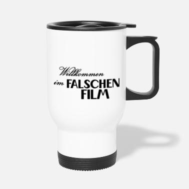 falscher Film - Thermobecher