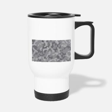 Camoflage Snow Camoflage Digitalized - Travel Mug