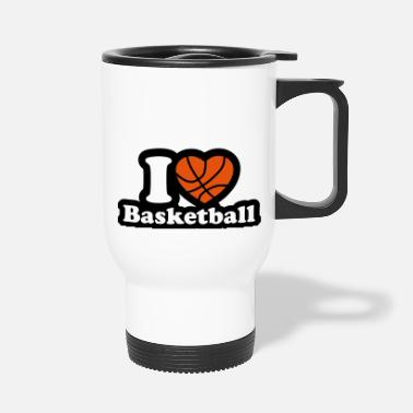 I Love Basketball I love basketball - Travel Mug