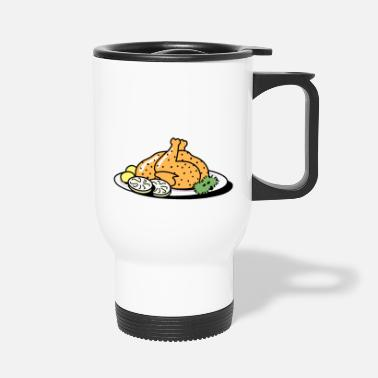Roast roast chicken - Travel Mug