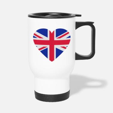 Jack Underwear Heart Britain - Travel Mug