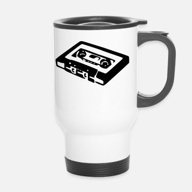 Audio cassette audio - Mug thermos