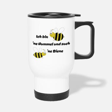 Bee Bumble bee and bee - Travel Mug
