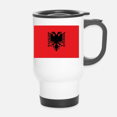 Bandera Flag of Albania - Mug thermos