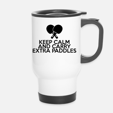 Table Tennis Table Tennis - Gift - Keep Calm And Carry Extra - Travel Mug