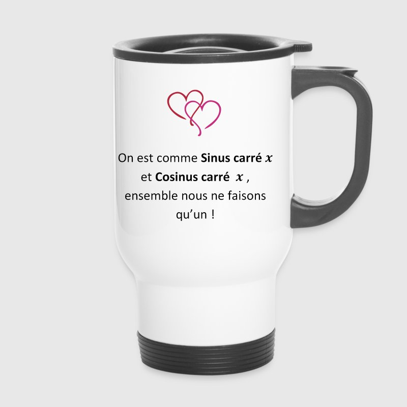 Romantic Maths - Mug thermos