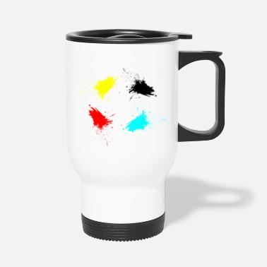 Stains stains - Travel Mug
