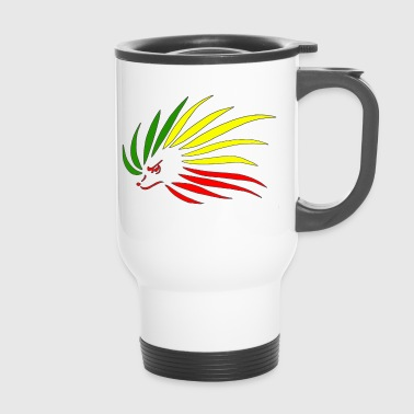 Rasta Hedgehog - Travel Mug