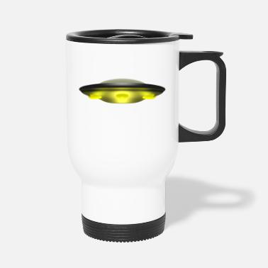 Saucer Flying saucer - Travel Mug