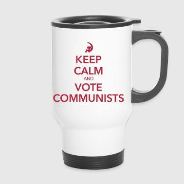 Vote communists - Mug thermos