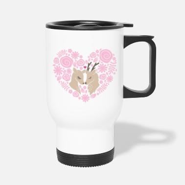 Deer love - Travel Mug