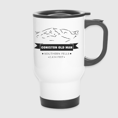 Cumbria Coniston Old Man - Travel Mug
