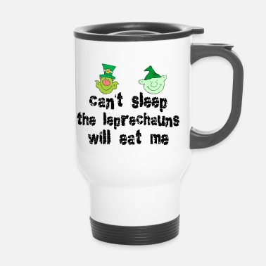 Funny Irish Leprechauns - Travel Mug