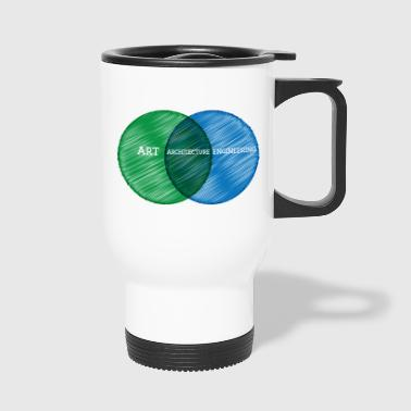 Architect / Architecture: Art, Architecture, - Travel Mug