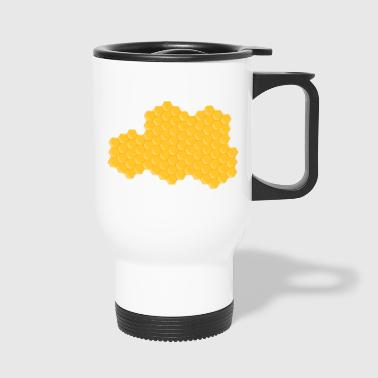 honeycomb - Travel Mug