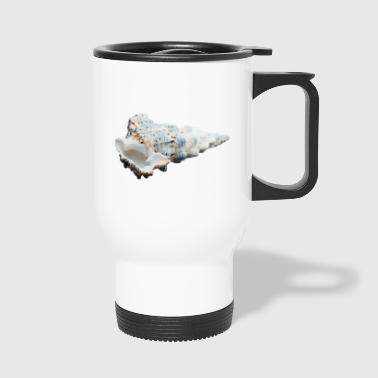A shell that reminds of the holiday - Travel Mug